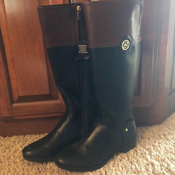 99eb9cbc9856 Liz Claiborne Wide Calf Boots